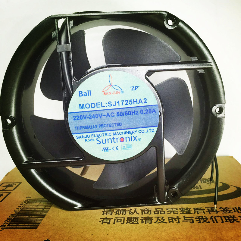 SJ1725HA2 172*150*51mm 220 V elips eksenel fan