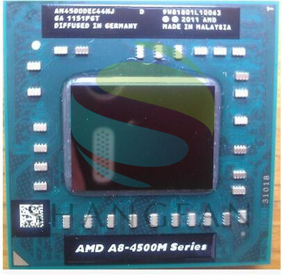 AMD A8 4500 M AM4500DEC44HJ laptop CPU Quad Core A8-4500M 1.9G FS1 A8-Series (benzer a10 4600 m a10-4600m 5500 m)